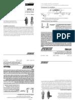 Series FPTC-1 Installation Instructions