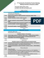 SanCoP7 Agenda