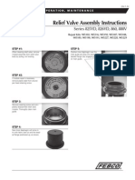 Series 825YD, 826YD, 860, 880V Relief Valve Assembly Instructions