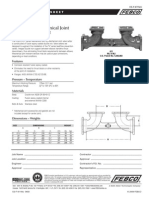 Series 611 Valve Setter Mechanical Joint by Mechanical Joint Specification Sheet
