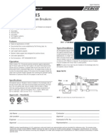 Series 710, 715 Specification Sheet