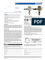 Series 765 Specification Sheet