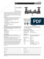 Series 805YD Specification Sheet