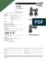 MasterSeries 870V Specification Sheet