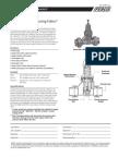 "Series PRV-2 11/4"" – 2"" Specification Sheet"