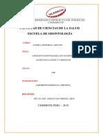 Trabajo Pacientes Cardiaco y Anticoagulantes Odontologica Integral Adulto i