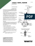 Series 23B, 123LP, N250, N250B Installation Instructions