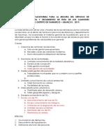 FEPI PROYECTO PARA LA FORMULACION DE PROYECTOS DE INVERSION