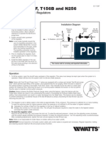Series 1156F, T156B and N256 Installation Instructions