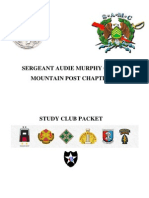 Sergeant Audie Murphy Club STUDY CLUB PACKET