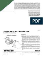 Series WFTK F&T Repair Kits Installation Instructions