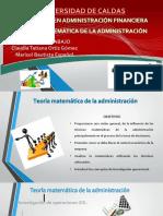 Teoria Matematica de La Administracion1