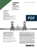 Series 774/774DCDA, 774X/774XDCDA Installation Instructions