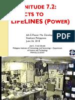 A Plenary 02 Magnitude 7 2 Effects Lifelines