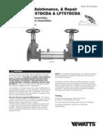 Series 757, 757DCDA, LF757DCDA, 757N, 757NDCDA, LF757NDCDA Installation Instructions