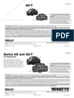 Series AS and AS-T Installation Instructions