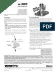Series PIPF Installation Instructions