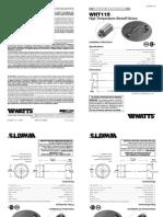 WHT115 Installation Instructions