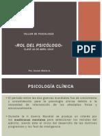 TP _ Rol del Psicólogo _ Clase IV.pdf