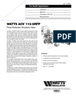 ACV 113-6RFP Specification Sheet