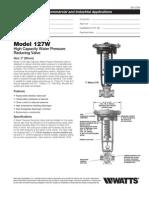 Model 127W Specification Sheet