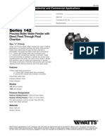 Series 142 Specification Sheet