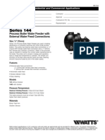 Series 144 Specification Sheet