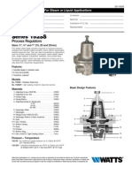 152SS Series PROCESS REGULATORS Specification Sheet