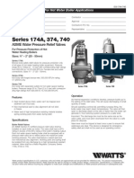 Series 174A, 374, 740 Specification Sheet