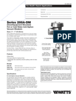Series 288A-DM Specification Sheet