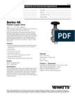 Series 65 Specification Sheet