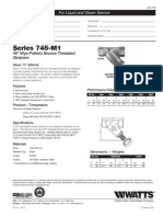 Series 745-M1 Specification Sheet