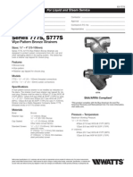 Series 777S, S777S Specification Sheet