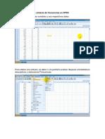 Manual de SPSS y PROJECT Archicad