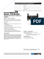 Series 77F-DI-250 Specification Sheet
