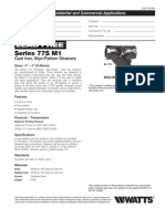 Series 77S M1 Specification Sheet