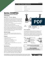 Series 909RPDA Specification Sheet