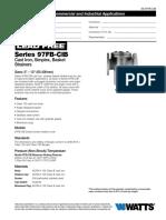 Series 97FB-CIB Specification Sheet