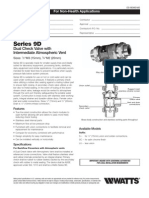 Series 9D Specification Sheet