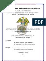 Aredo Chinga, Víctor Alexander, Villanueva Murga, Alfredo Antonio