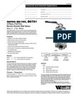 Series B6780, B6781 Specification Sheet