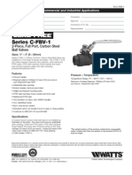 Series C-FBV-1 Specification Sheet