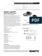 Series CSM-61 Specification Sheet