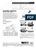Insulation Systems Specification Sheet