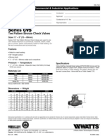 Series CVS Specification Sheet