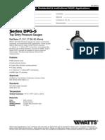 Series DPG-5 Specification Sheet