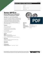 Series DPTG-3 Specification Sheet