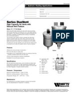 Series DuoVent Specification Sheet