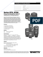 Series ETX, ETSX Specification Sheet