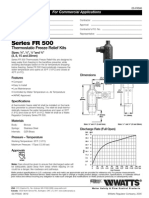 Series FR 500 Specification Sheet